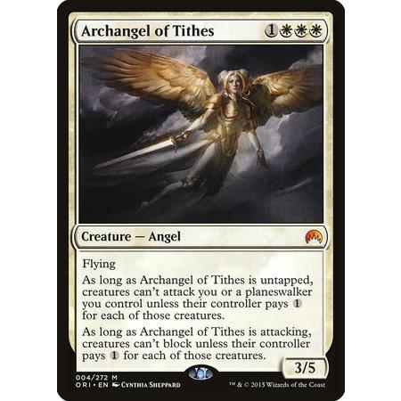 Archangel of Tithes - Foil