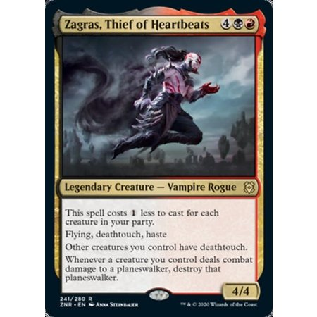 Zagras, Thief of Heartbeats - Foil