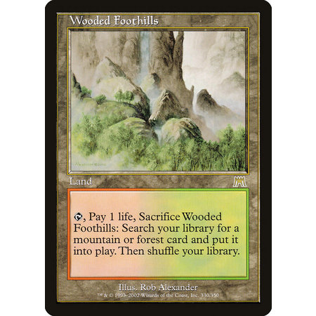 Wooded Foothills (HP)