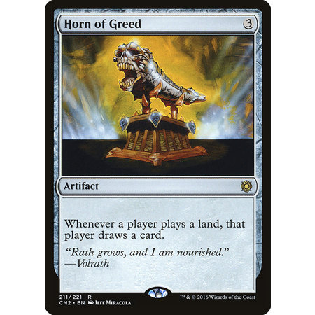Horn of Greed