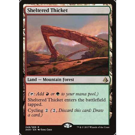 Sheltered Thicket - Foil