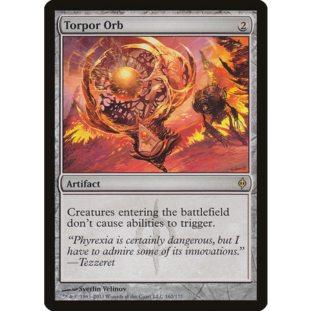Torpor Orb - Foil (Damaged)