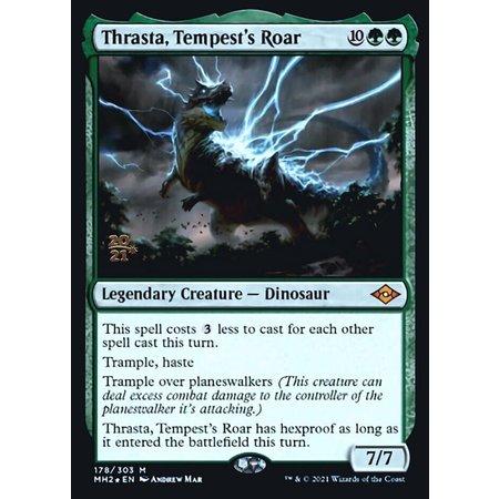 Thrasta, Tempest's Roar - Foil - Prerelease Promo