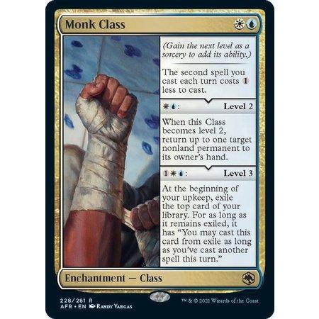 Monk Class - Foil