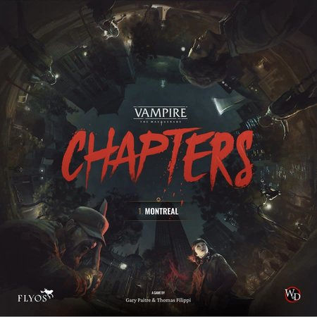 PREORDER - Vampire The Masquerade: Chapters