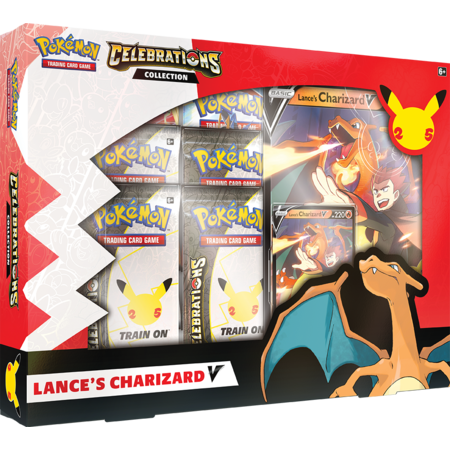 Pokemon Celebrations Collections Charizard V