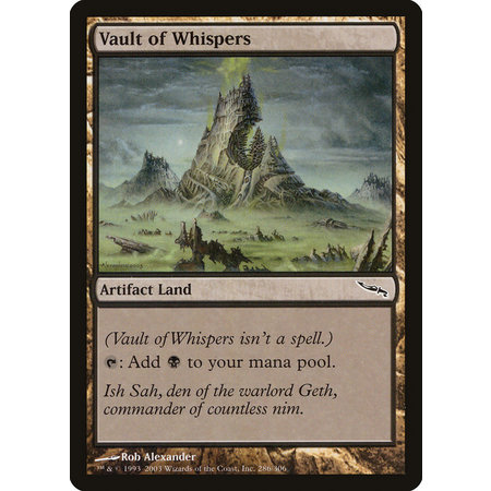 Vault of Whispers (HP)