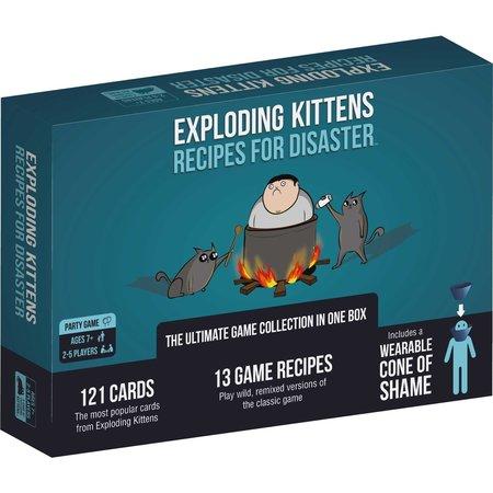 Exploding Kittens - Recipes for Disaster
