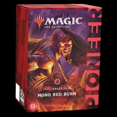 MTG Pioneer Challenger Deck 2021 - Mono Red Burn