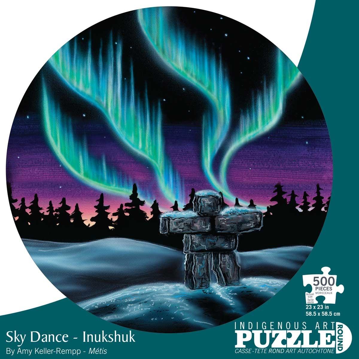 500 - Sky Dance - Inukshuk (Amy Keller-Rempp)