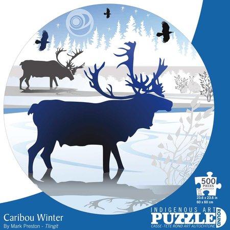 500 - Caribou Winter (Mark Preston)