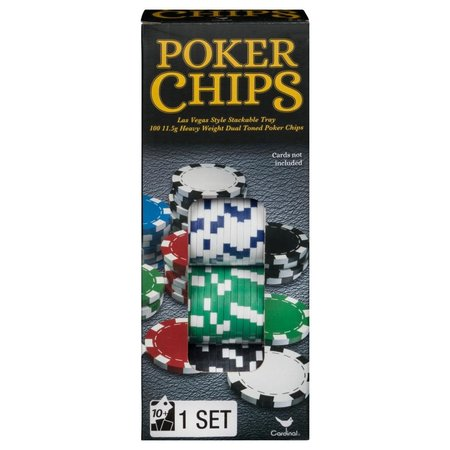 Traditions Poker Chip Set (100ct)