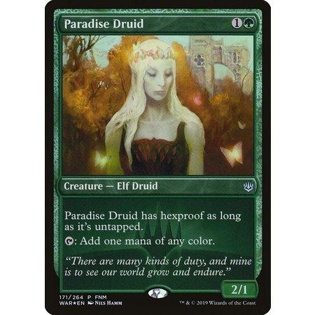 Paradise Druid - Foil - FNM Promo