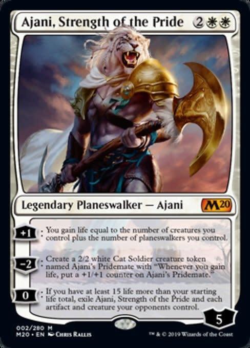 Ajani, Strength of the Pride - Foil
