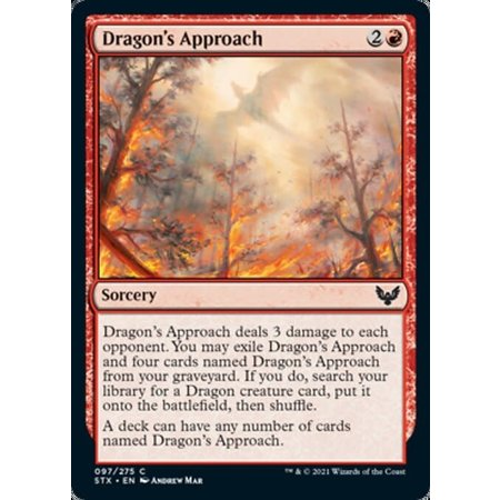 Dragon's Approach - Foil