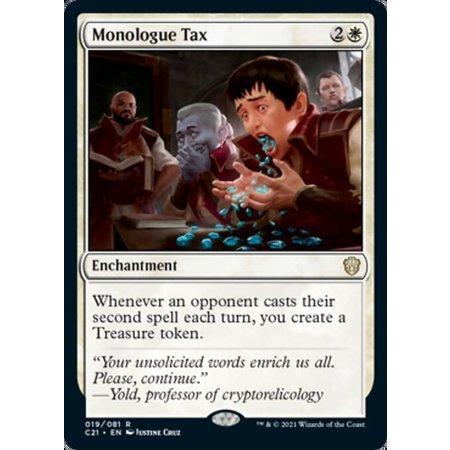 Monologue Tax