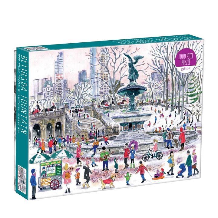 1000 - Bethesda Fountain
