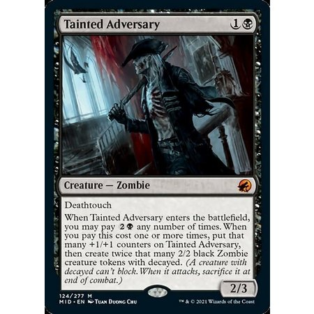 Tainted Adversary - Foil
