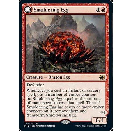 Smoldering Egg - Foil