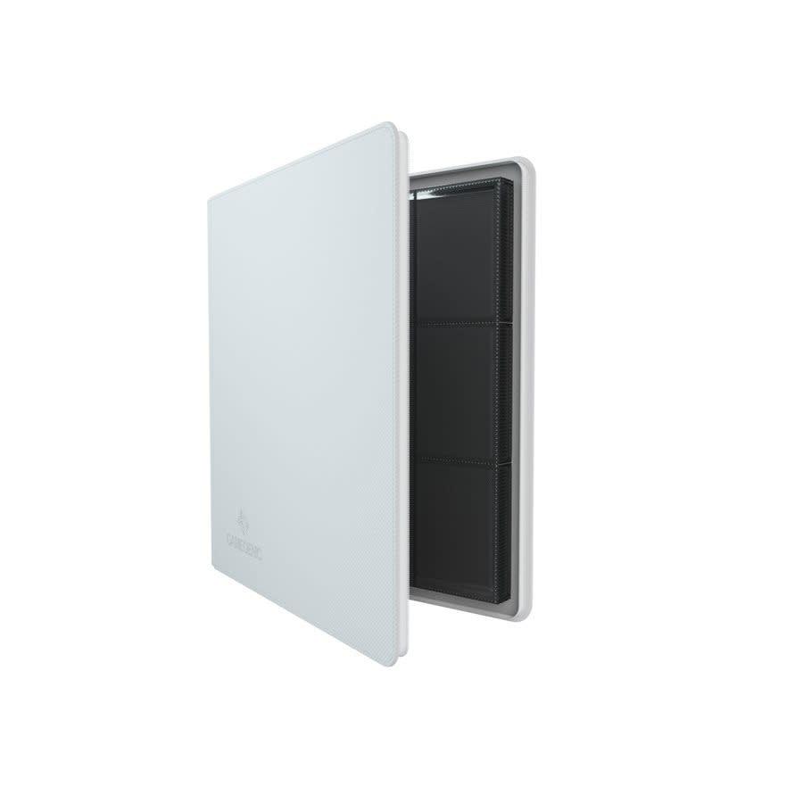 24-Pocket Zip-Up Album - White