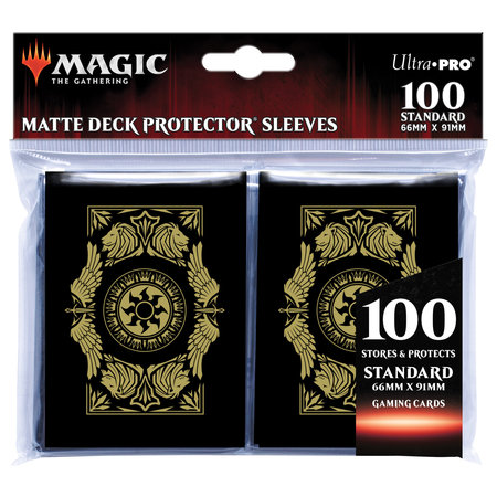 Deck Protector Sleeves - MTG Mana Plains 100+