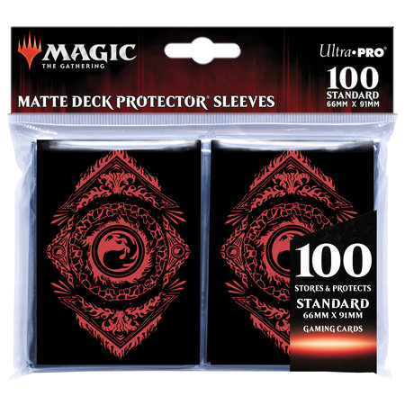 Deck Protector Sleeves - MTG Mana Mountain 100+