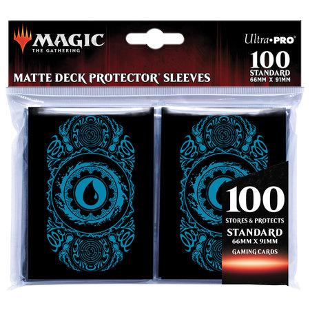 Deck Protector Sleeves - MTG Mana Island 100+