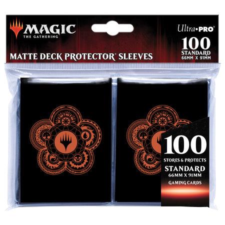 Deck Protector Sleeves - MTG Mana 7 Color Wheel 100+
