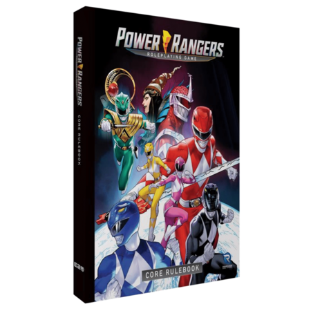 PREORDER - Power Rangers Role Playing Game Core Rulebook