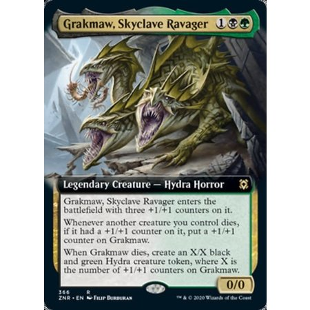 Grakmaw, Skyclave Ravager - Foil