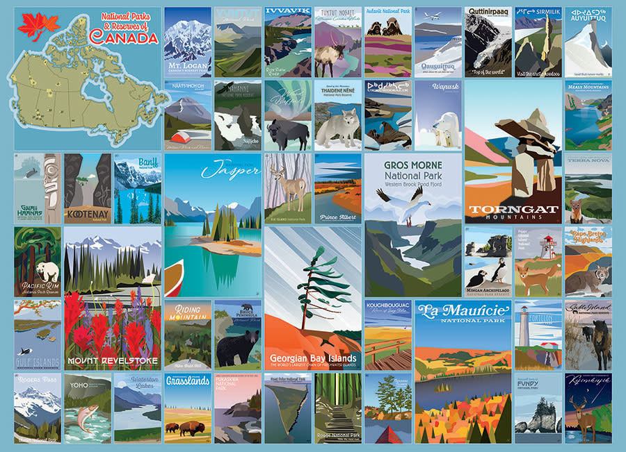 1000 - National Parks and Reserves of Canada