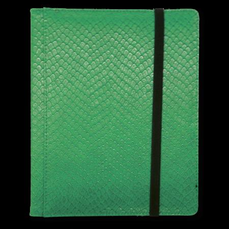 Dragon Hide 4-Pocket Binder - Green