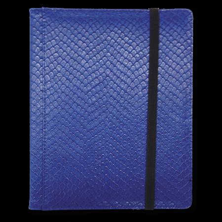 Dragon Hide 4-Pocket Binder - Blue