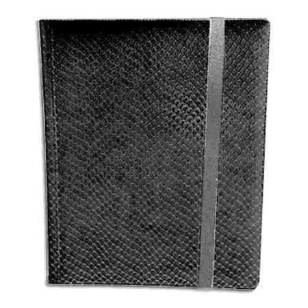 Dragon Hide 9-Pocket Binder - Black