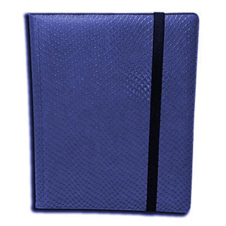 Dragon Hide 9-Pocket Binder - Blue