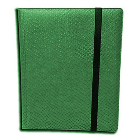 Dragon Hide 9-Pocket Binder - Green