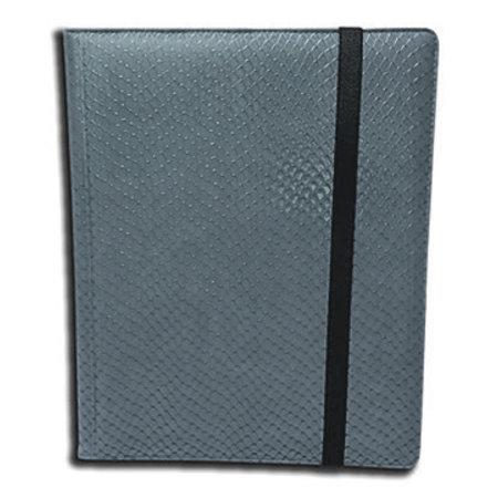 Dragon Hide 9-Pocket Binder - Grey