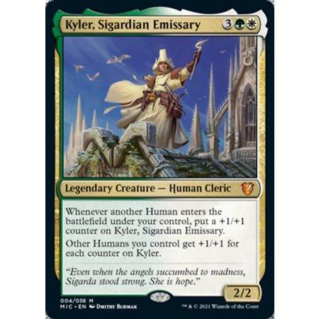 Kyler, Sigardian Emissary - Foil