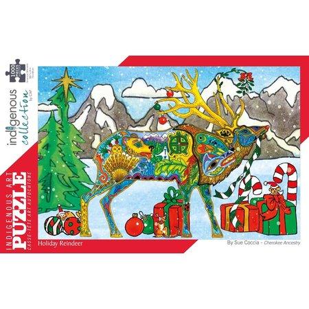 1000 - Holiday Reindeer (Sue Coccia)