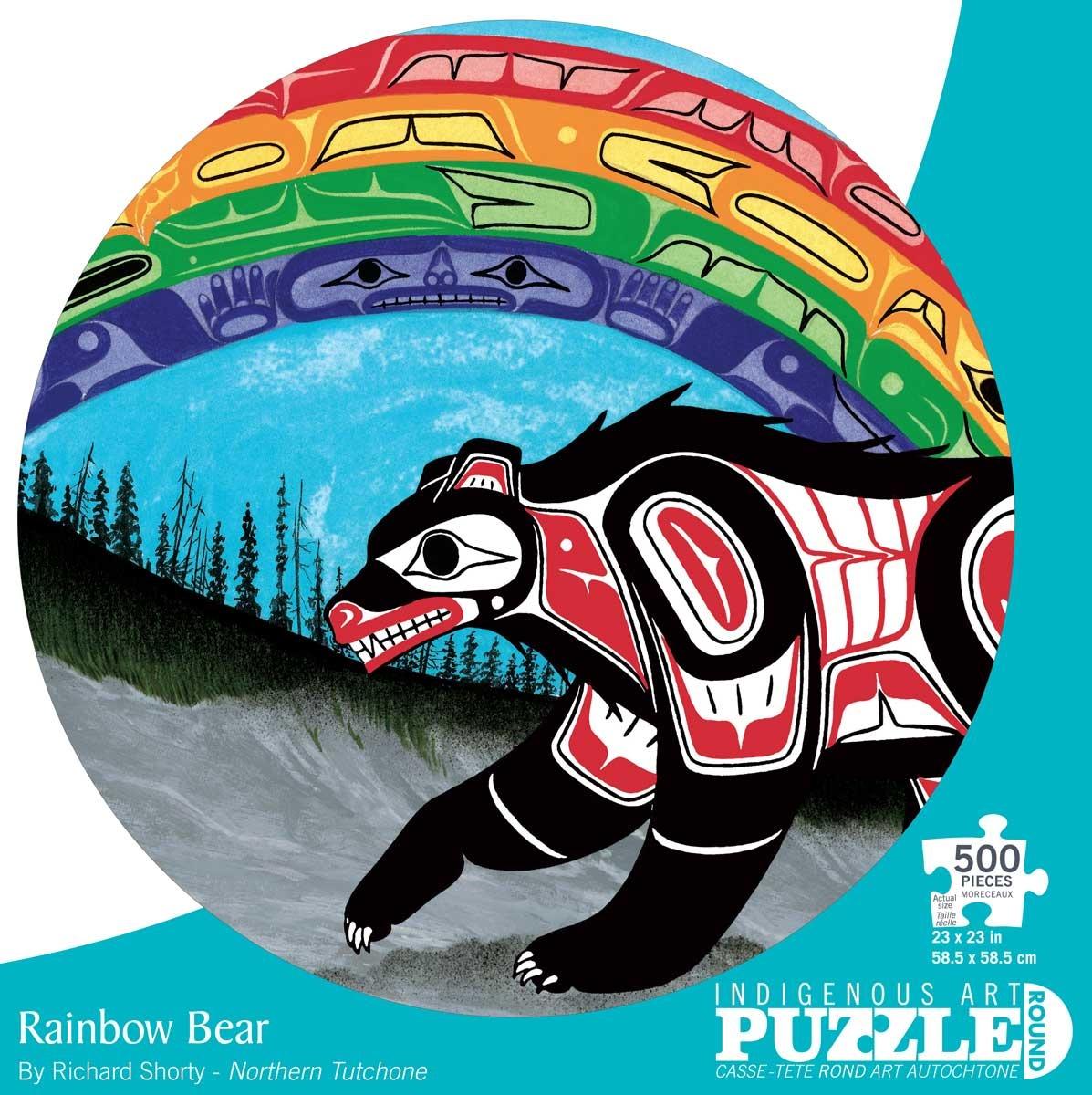 500 - Rainbow Bear (Richard Shorty)