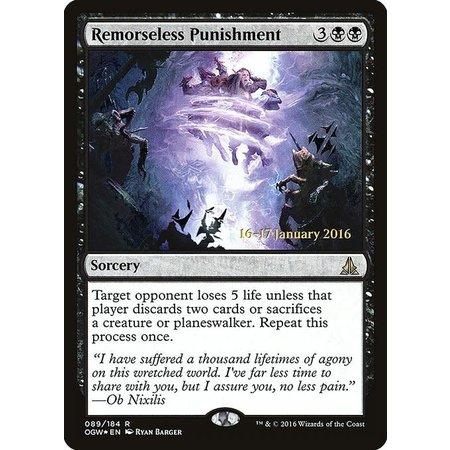 Remorseless Punishment - Foil - Prerelease Promo