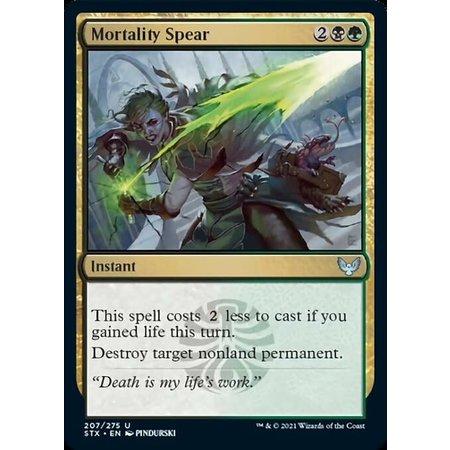 Mortality Spear
