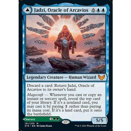 Jadzi, Oracle of Arcavios - Foil