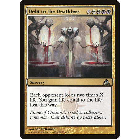 Debt to the Deathless