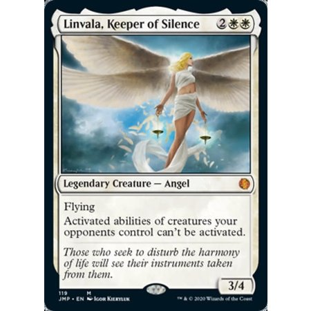 Linvala, Keeper of Silence