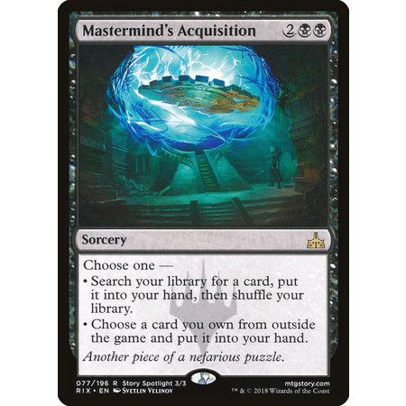 Mastermind's Acquisition