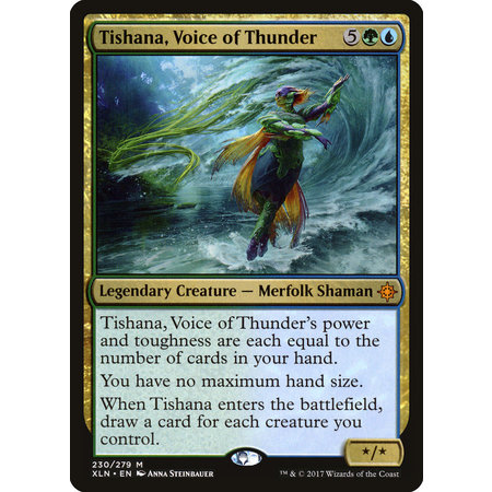 Tishana, Voice of Thunder (LP)