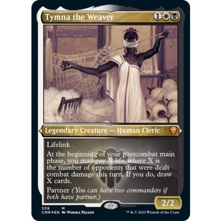 Tymna the Weaver - Foil-Etched