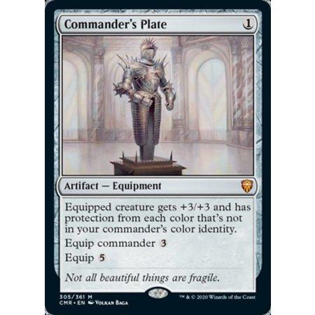 Commander's Plate