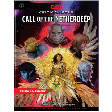PREORDER - Dungeons and Dragons 5th Edition RPG - Critical Role: Call Of The Netherdeep